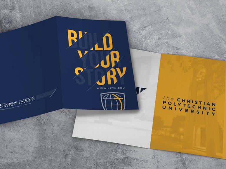 LeTourneau University Acceptance Folder