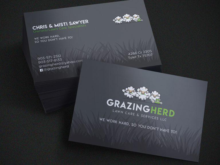 Grazing Herd Lawn Care Brand Pkg